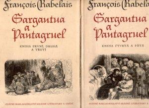 Gargantua a Pantagruel I. -V. (2 svazky)